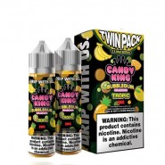 Candy King Twin Pack Bubblegum Tropic 2x 60ml Vape...