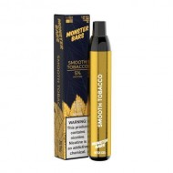 Monster Bars Disposable Vape -  Smooth Tobacco